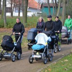 Strollering cvičení s kočárky